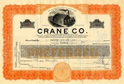 Crane Company  - Illinois 1932