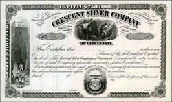 Crescent Silver Company 1870's - Property in Colorado