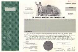 CRI Insured Mortgage Investments II, Inc. - Criimi Mae