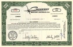Crossway Motor Hotels, Inc. - Delaware 1968