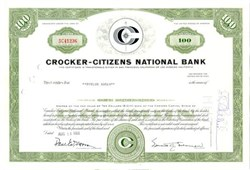 Crocker - Citizens National Bank