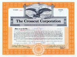 Crosscut Corporation 1928