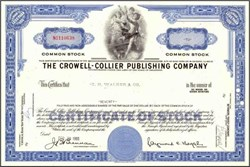 Crowell - Collier Publishing Company ( Collier's Weekly Magazine Publisher )