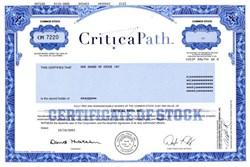 Critical Path, Inc. - California 2001