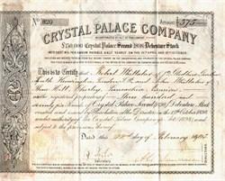 Crystal Palace Company - England 1905