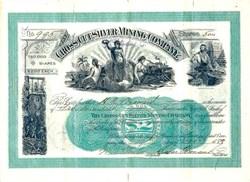 Cross-Cut Silver Mining Company - Cleveland, Ohio 1888