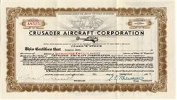 Crusader Aircraft Corporation  (Shelton Flying Wing) 1937