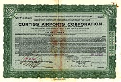 Curtiss Airports Corporation - Delaware 1930