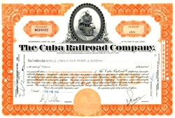 Cuba Railroad Company 1950's - Siezed by Castro Government