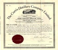 Curtis Distillery Company - England 1949