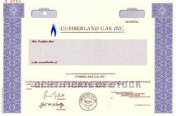 Cumberland Gas Inc.