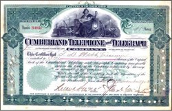 Cumberland Telephone and Telegraph Company 1903