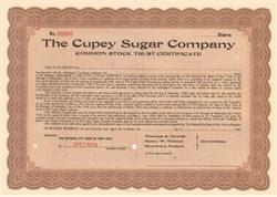 Cupey Sugar Company - Cuba Company