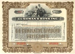 Cushman's Sons, Inc.