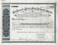 Cunard Steam Ship Company - 1946