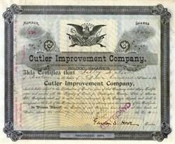 Cutler Improvement Company 1902 - Boston, Mass