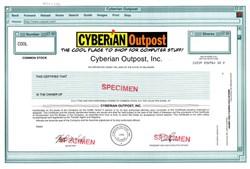 Cyberian Outpost, Inc. (Rare Specimen)  - Delaware