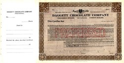 Daggett Chocolate Company - Massachusetts