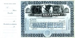 Davis-Daly Copper Company (Specimen)  - Butte District, Silver Bow County, Montana