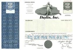 Daylin, Inc. - Delaware ( Drug Company )