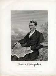 David Livingstone Lithograph (Dr. Livingstone, I presume? ) - New York 1872