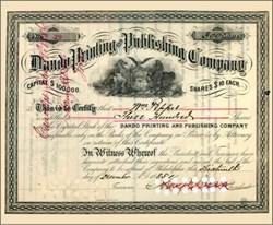 Dando Printing and Publishing Company 1885