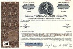 Data Processing Financial & General Corporation - Delaware
