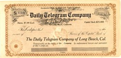 Daily Telegram Company - Long Beach, California  190_