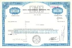 Data Management Services, Inc. - 1972