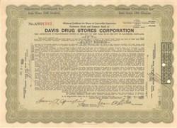 Davis Drug Stores Corporation - Baltimore, Maryland 1929