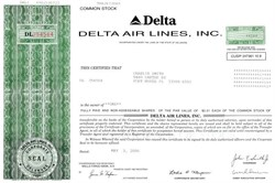 Delta Airlines, Inc. - Delaware