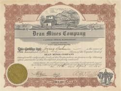 Dean Mines Company 1922 - Battlefield Mountain