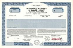 Development Authority of Bulloch County - Georgia 1992