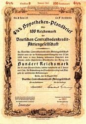 Deutschen Centralbodenkredit - Aktiengesellschaft 1942
