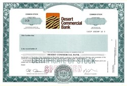 Desert Commercial Bank - Palm Desert, California
