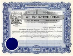 Deer Lodge Investment Company