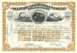 Delaware, Lackawana & Western Railroad Company