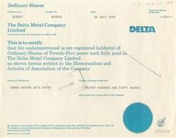 Delta Metal Company Limited