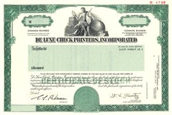 Deluxe Check Printers, Incorporated - Minnesota 1987