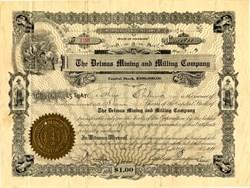 Delmas Mining and Milling Company - Colorado 1911
