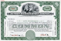 Detroit - Michigan Stove Company - Michigan 1937