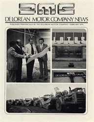Delorean Motor Company News - 1979