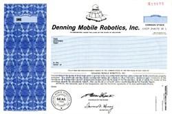 Denning Mobile Robotics, Inc ( Early Robot Maker) - Delaware