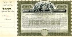 Detroit River Tunnel Company - 50 Year Gold Bond - Michigan 1906