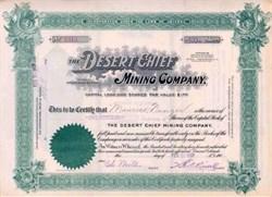 Desert Chief Mining Company 1907 - Goldfield, Nevada