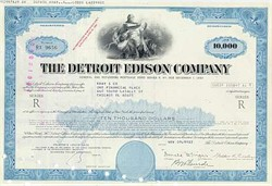 Detroit Edison Power Company $1000 Bond