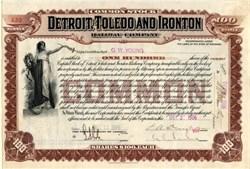 Detroit , Toledo and Ironton Railway Company - Michigan 1906
