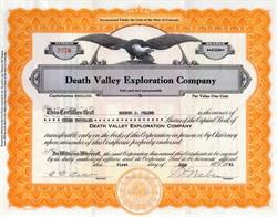 Death Valley Exploration Company - San Bernardino - Yermo - 1931
