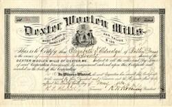 Dexter Woolen Mills - Dexter, Maine 1880