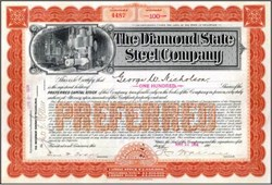 Diamond State Steel Company 1904 - Wilmington, Delaware
